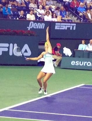 Maria Sharapova at Indian Wells