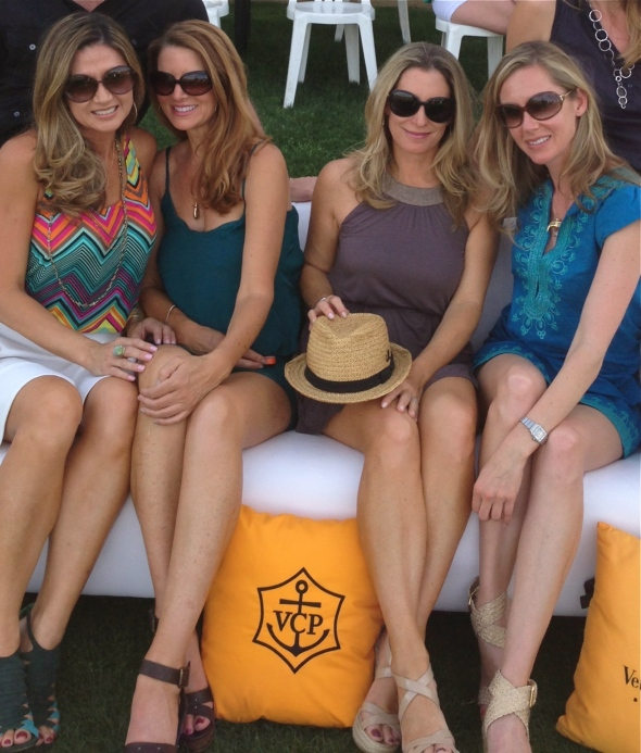 Watching polo matches at the Empire Polo Club.