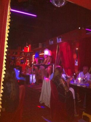 Friday night cabaret show