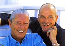 Fashionistas Stephane and Bernard