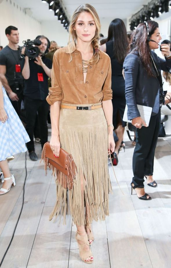 Olivia Palermo in Michael Kors NYFW
