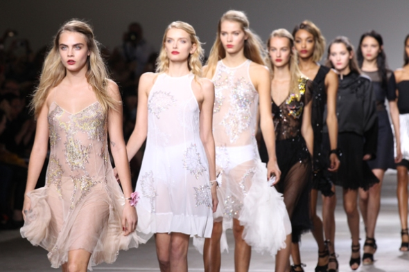 Cara Delevingne leading the way for Topshop
