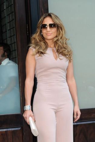 Serial jumpsuit offender, Jennifer Lopez.