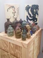Ceramics by Rebecca Morgan at Asya Geisberg at Untitled