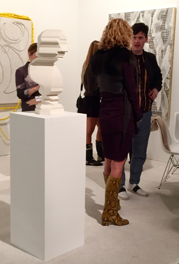 Seeing Yellow at Art Los Angeles Contemporary