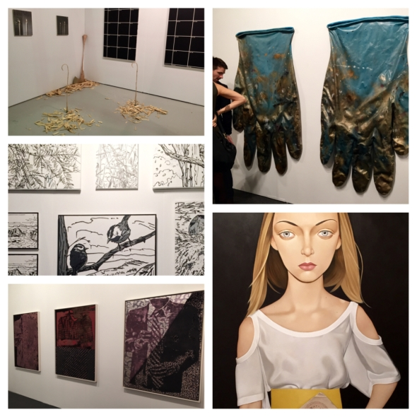 Some of the sights at Art Los Angeles Contemporary