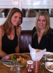 Having lunch at the Standard Grill