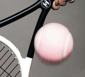 We know our game would be much-improved with this racquet. :)