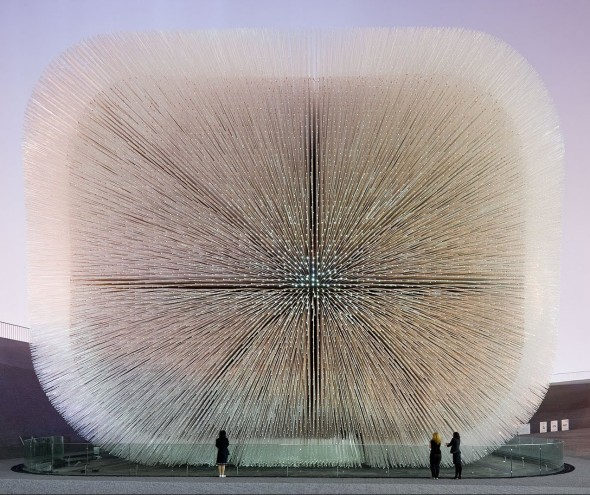 The work of Thomas Heatherwick on view now until May at the Hammer Museum.