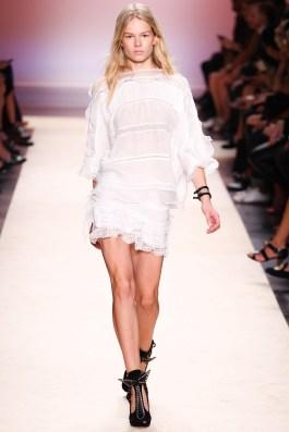 White Isabel Marant SS2015 dress