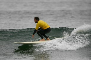 Surfer and lead Foo Fighters guitarist Chris Shifflet.