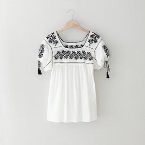 Ulla Johnson™ Ana Embroidered Top