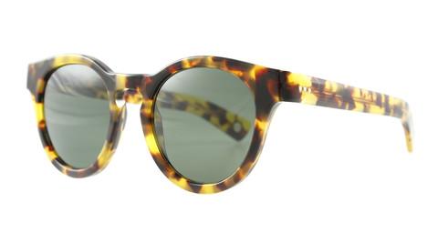 Ahem Eyewear: Barbes Turtle Clear Frames