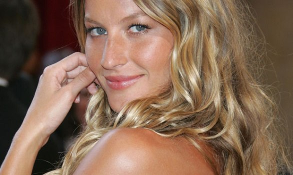 Gisele, who we think of when we think of beach hair.