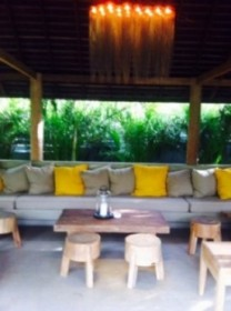 Groovy outdoor lounge