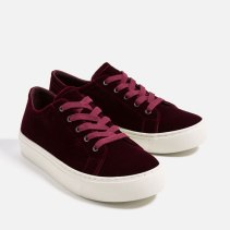 At $39.90 these Zara velvet sneakers are practically risk free.