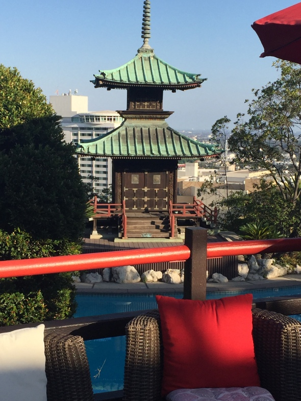 …or Pagoda Bar by day.