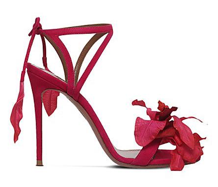 Aquazzura-Red-Flora-Sandal