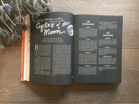 Cycles of the Moon and biodynamic farming.