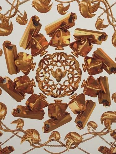 Ai Weiwei's surveillance camera wallpaper at Jeffrey Deitch was inspired by his time under house arrest